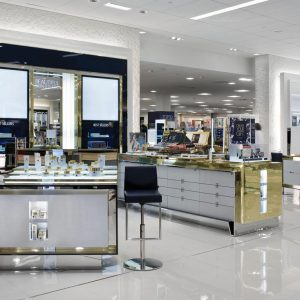 That Metal Company, #803 Polished Solid Brass, Brass - Estee Lauder Retail Display