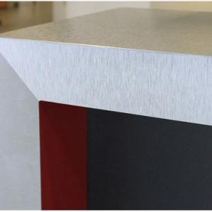 That Metal Company, #927 Light Stainless Steel Aluminium, Aluminium - 90 Degree Bend Mitre Corner