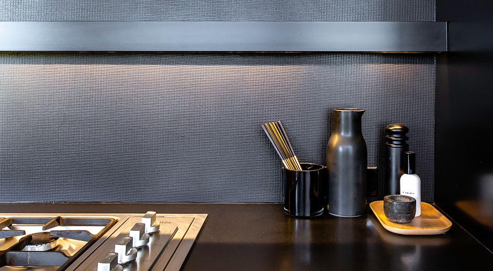 That Metal Company - Home - Liquid Metal Kitchen Splashback