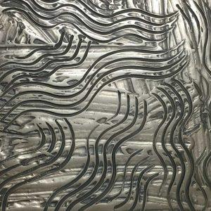 That Metal Company - Liquid Metal Series Bronze - GM7 Gunmetal Bronze High Polished Swirl