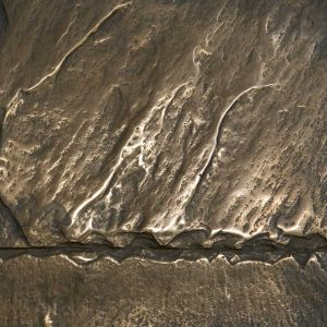 That Metal Company - Liquid Metal Series Bronze - SB5 Smoky Bronze on Latex with Black Wax