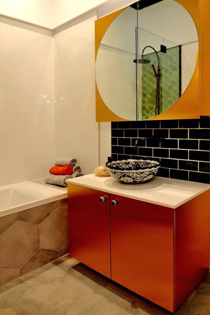 That Metal Company - Metal Laminates - Post Deadline Design Bathroom 1
